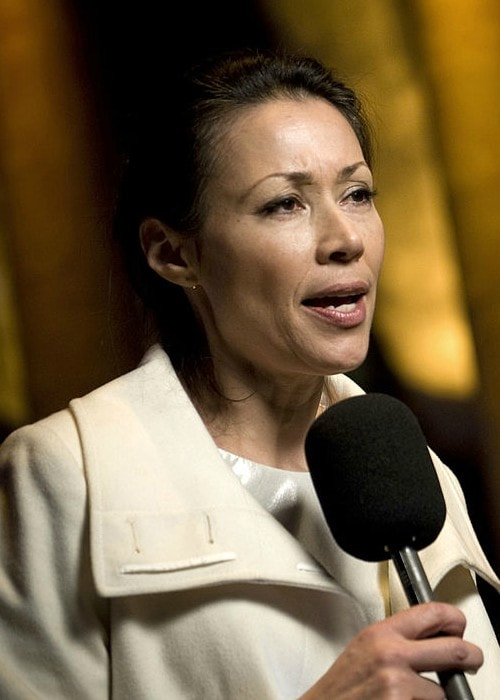 Ann Curry at the National Building Museum in January 2009