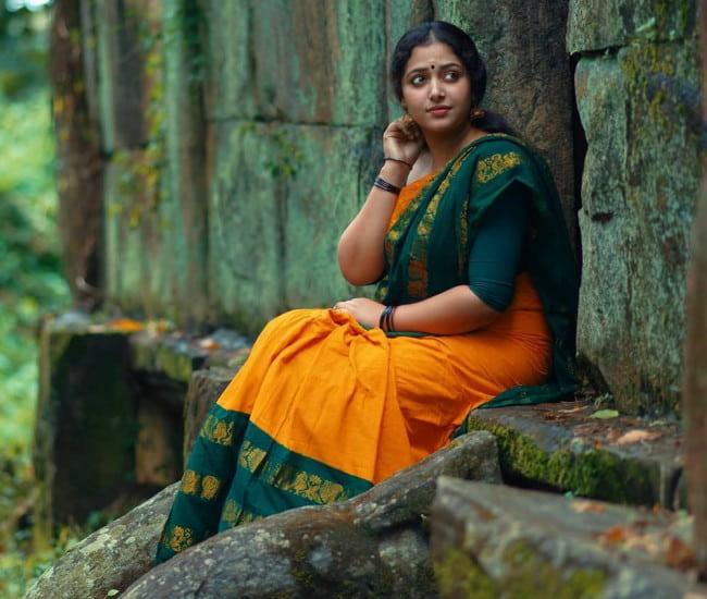 Anu Sithara as seen in September 2019
