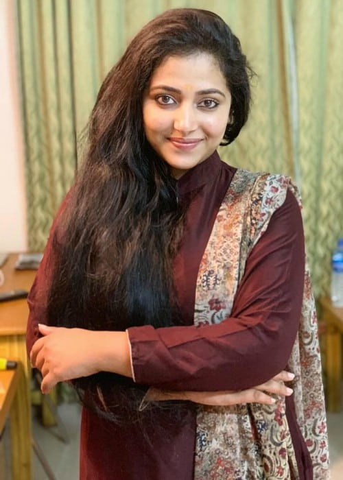 Anu Sithara in an Instagram post in July 2019
