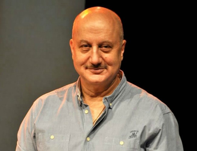 Anupam Kher as seen in May 2013