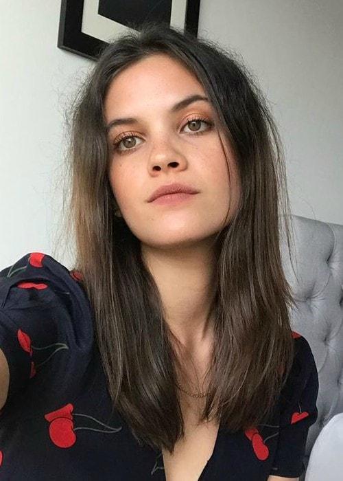Ariel Mortman in an Instagram selfie as seen in June 2019