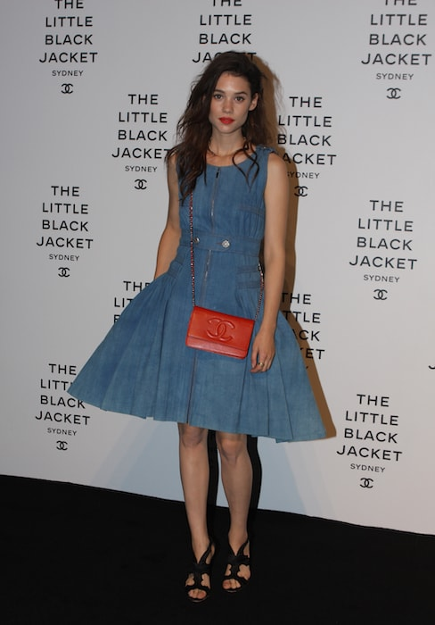 Astrid Berges-Frisbey at a Chanel event in 2012