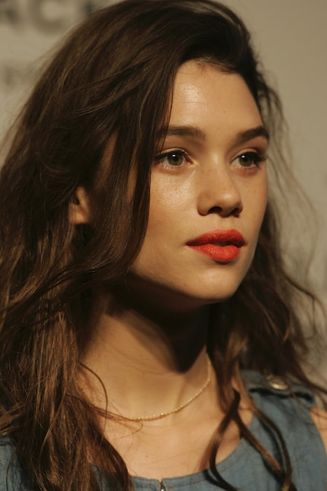 Astrid Berges-Frisbey during a Chanel event in 2012