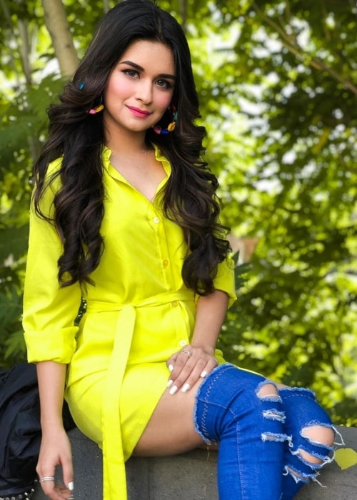 Avneet Kaur as seen in a picture taken in Yerevan, Armenia in October 2019