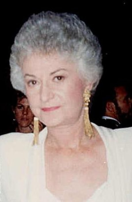 Bea Arthur as seen in a picture taken at the 1987 Emmy Awards