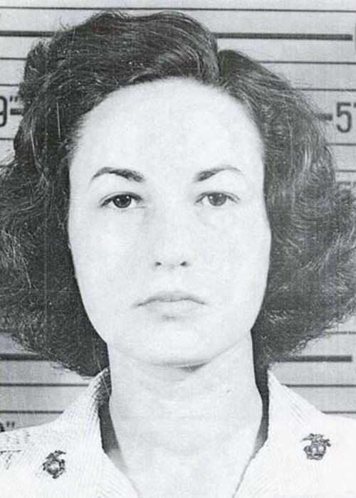 Bea Arthur as seen in her United States Marine Corps portrait