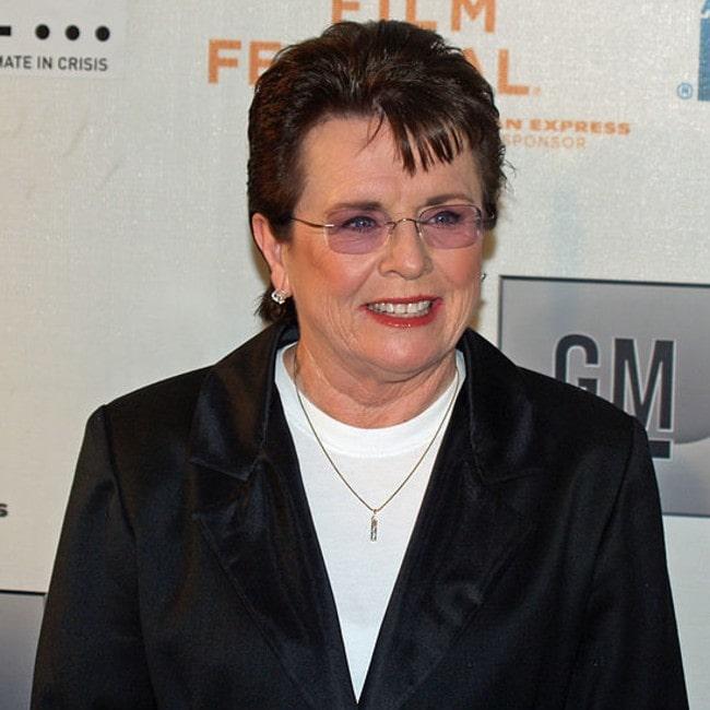 Billie Jean King as seen in April 2007