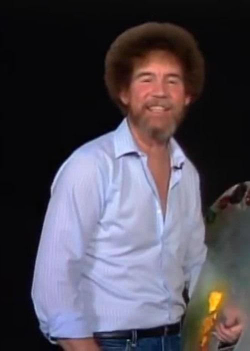 Bob Ross as seen in 1986