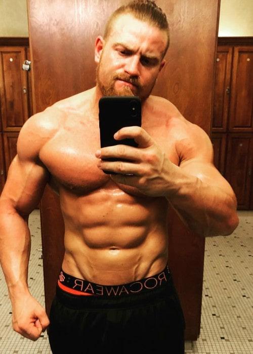 Buddy Murphy in an Instagram selfie as seen in March 2018