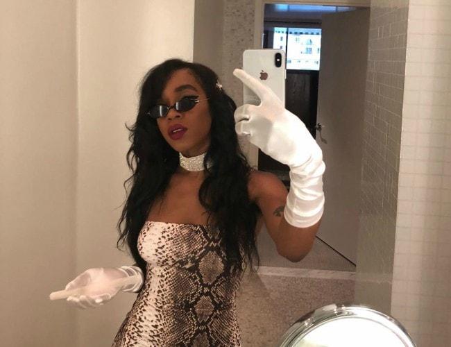Buku Abi in a selfie in July 2019