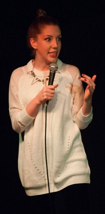 Canadian comedian and actress Katherine Ryan as seen in 2013
