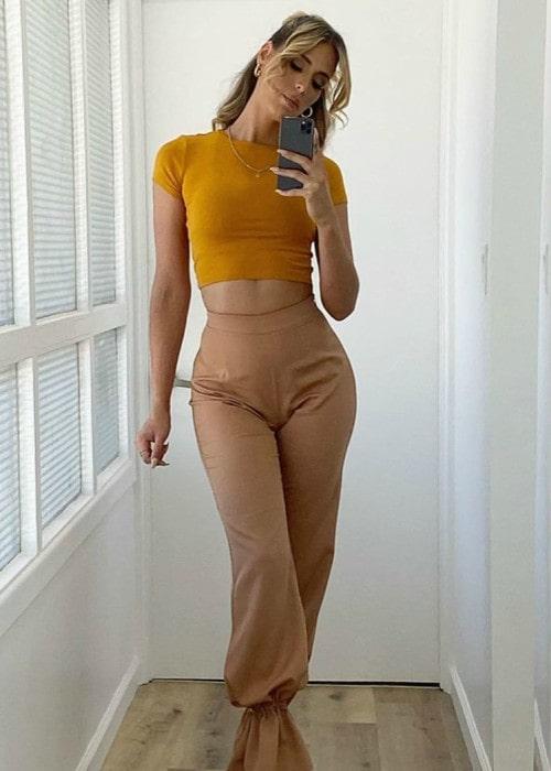 Carmen Carrera in a selfie as seen in October 2019