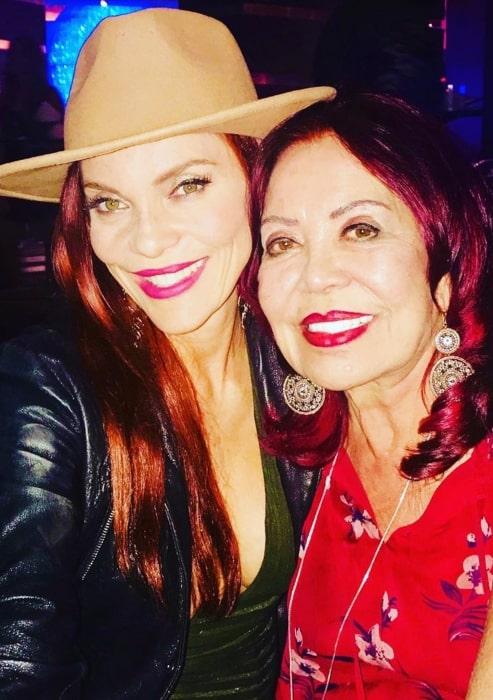 Carmit Bachar celebrating her mother's birthday on June 4, 2019