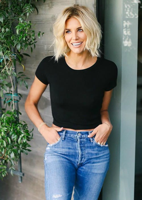 Charissa Thompson as seen in July 2019