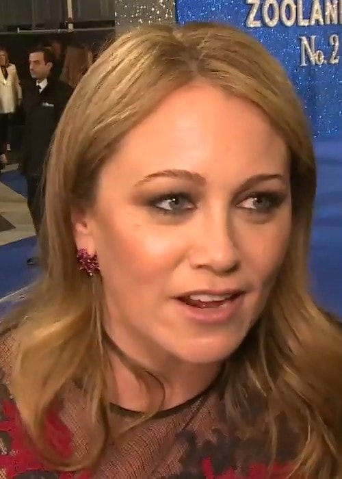 Christine Taylor during an interview in February 2016