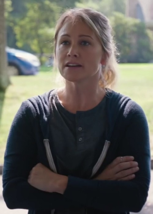 Christine Taylor in a still from the 2016 film Little Boxes