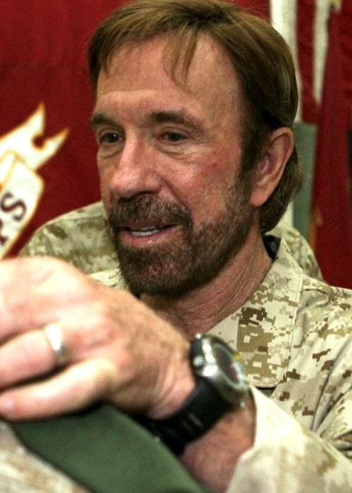 Chuck Norris during an event in November 2006