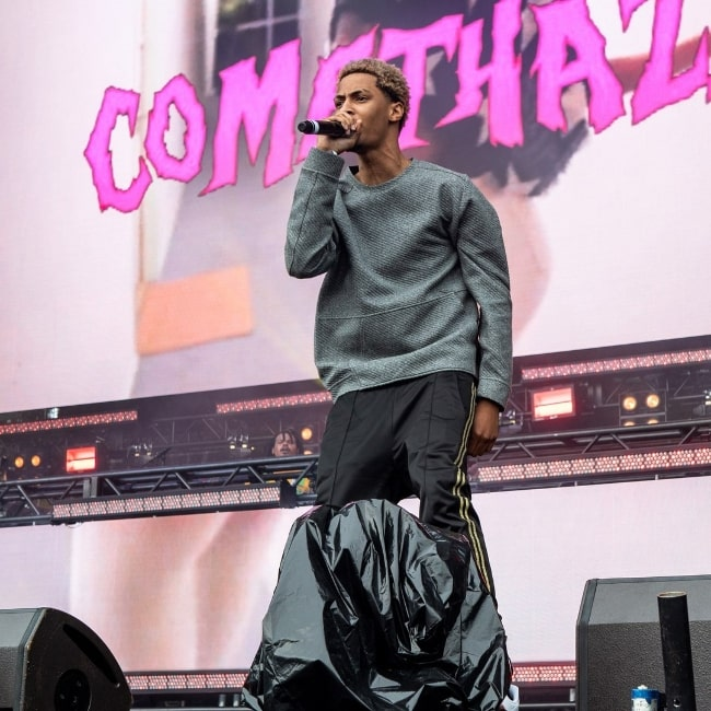 Comethazine as seen while performing during an event in May 2018