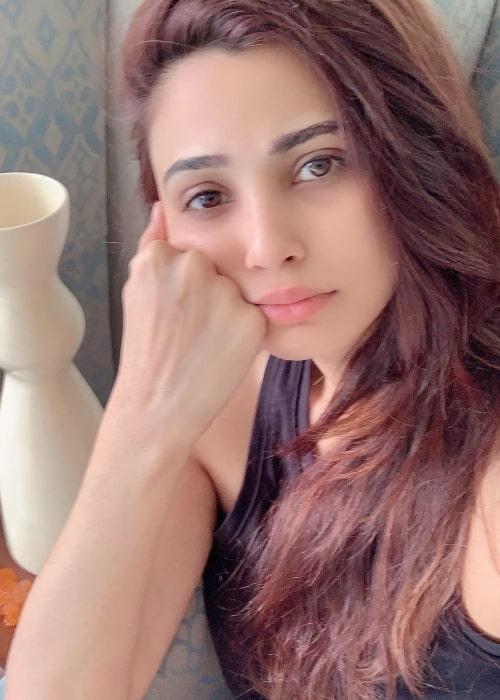 Daisy Shah as seen in a selfie taken in May 2019