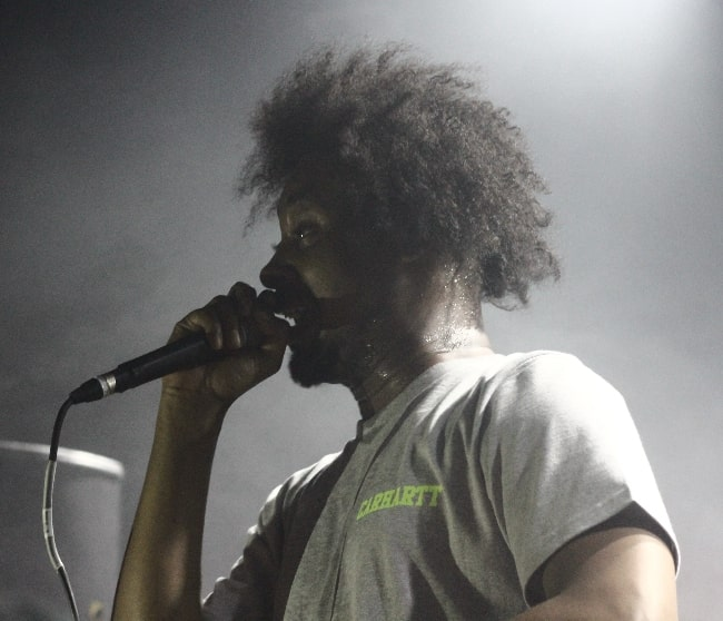 Danny Brown as seen while performing during an event in 2014