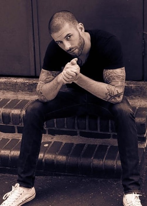 Darcy Oake as seen in a picture taken in September 2016