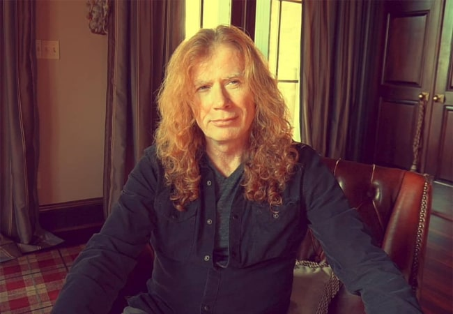 Dave Mustaine in an Instagram post in June 2019