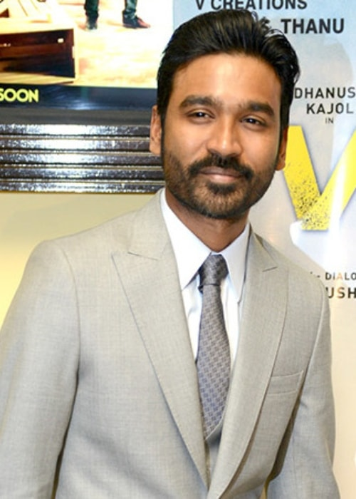 Dhanush as seen in a picture taken during the promotion of his film Velaiilla Pattadhari 2 in Delhi in 2017