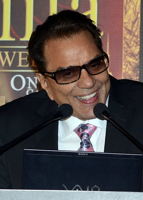 Dharmendra at IIFA Press Conference