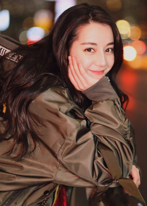 Dilraba Dilmurat as seen in a picture taken in March 2018