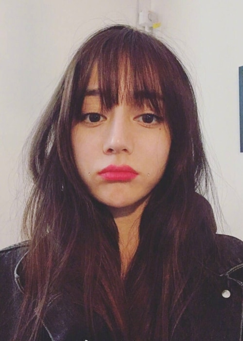 Dilraba Dilmurat as seen in a selfie taken in August 2017