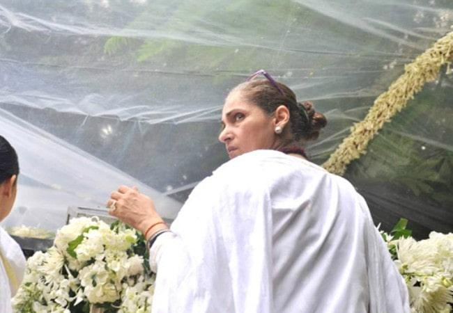 Dimple Kapadia as seen in July 2012