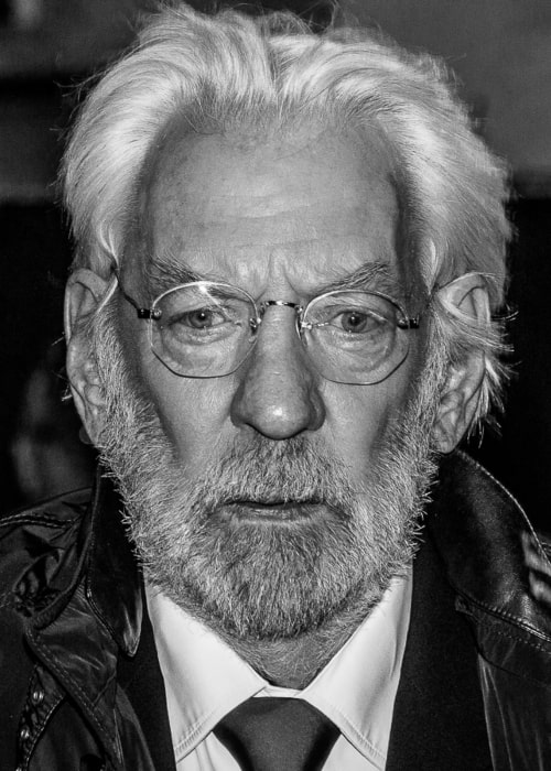 Donald Sutherland as seen in a picture taken at the Hunger Games Mockingjay London Premiere in November 2014