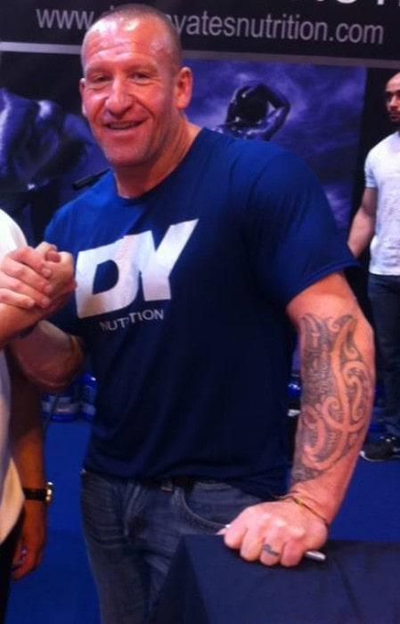 Dorian Yates as seen in June 2016