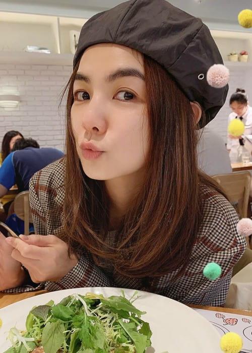 Ella Chen in an Instagram post as seen in November 2019