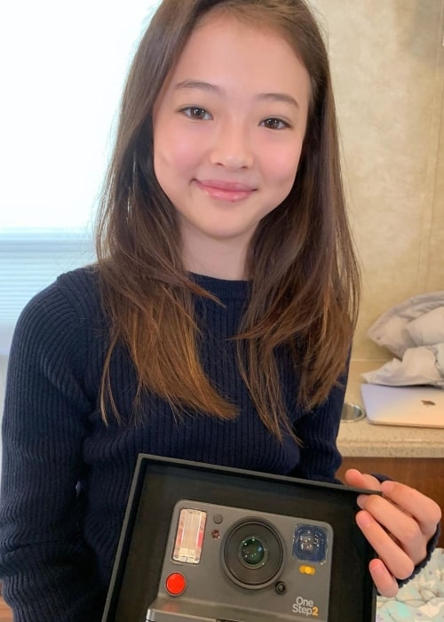 Ella Gross as seen in a picture taken in October 2019