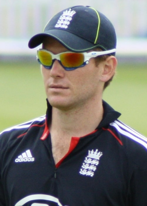 Eoin Morgan as seen in a picture taken at the Bristol County Ground during a match against Bangladesh in July 2010