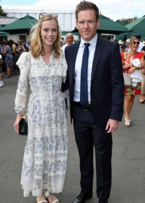 Eoin Morgan as seen in a picture taken at the Wimbledon in July 2019