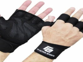 Fit Active Ventilated Weight Lifting Gloves Review