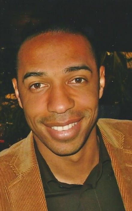 French football player Thierry Henry as seen in 2007
