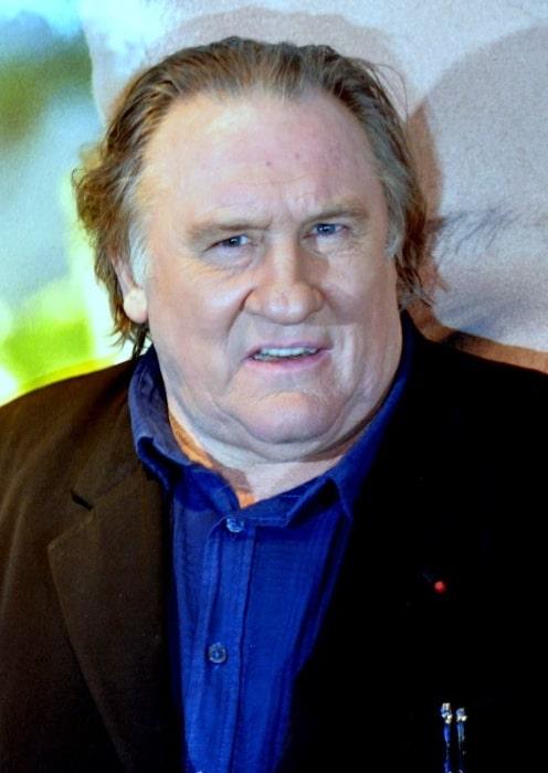 Gérard Depardieu as seen in November 2016