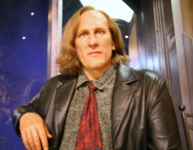 Gérard Depardieu as seen in a picture from his younger years
