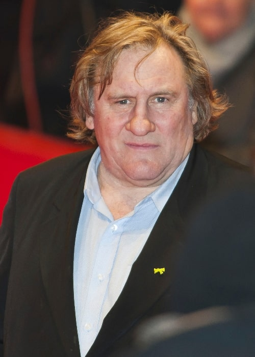 Gérard Depardieu as seen in a picture taken at the premiere of 'MAMMUTH' at the Berlinale Palast in February 2010