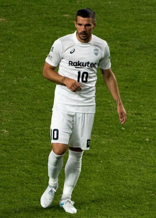 German football player Lukas Podolski