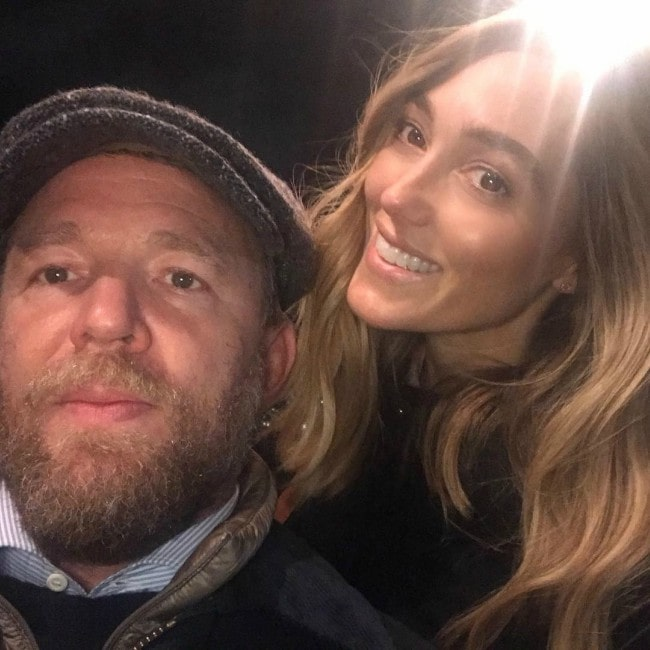 Guy Ritchie and Jacqui Ainsley in a selfie as seen in November 2018