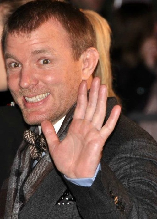 Guy Ritchie in Paris at a premiere in January 2012