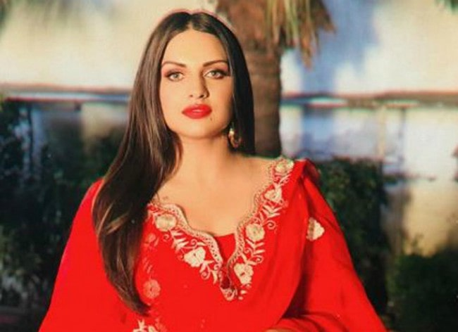 Himanshi Khurana as seen in 2019