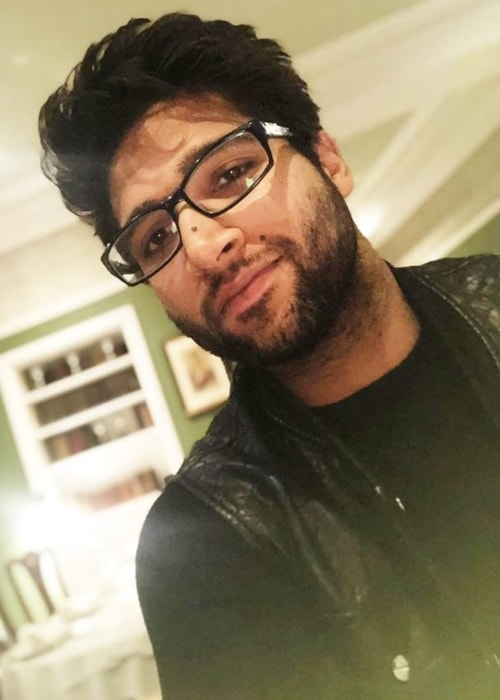 Imam-ul-Haq as seen in a selfie taken in August 2019