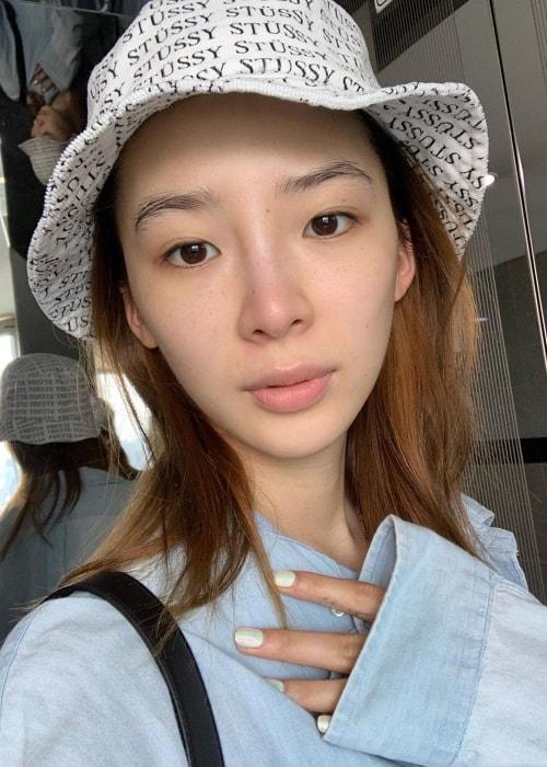 Irene Kim as seen in a selfie taken in August 2019
