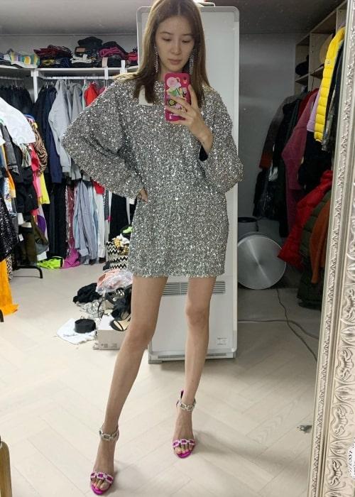 Irene Kim as seen in a selfie taken in October 2019