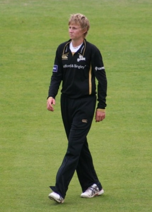 Joe Root as seen in a picture taken during his Yorkshire debut at Headingley, against the Essex Eagles in September 2009
